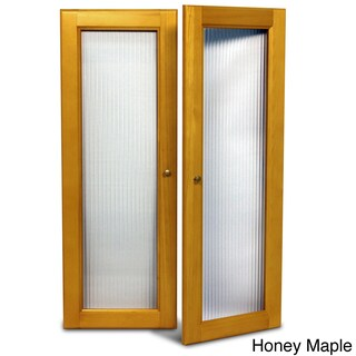 John Louis Home Collection Deluxe Fluted Glass Tower Door Kit (2 options available)
