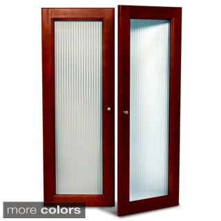 John Louis Home Collection Deluxe Fluted Glass Tower Door Kit