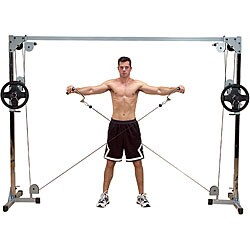 Powerline Cable Crossover Exercise Machine