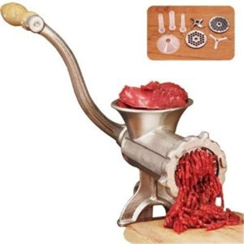 Weston #10 Manual Meat Grinder and Sausage Stuffer