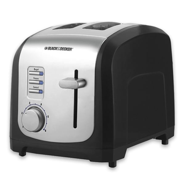 Black & Decker 850-Watt 2-slice Toaster