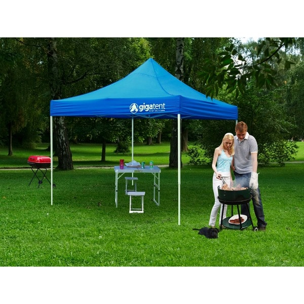 Blue 10-foot x 10-foot Canopy
