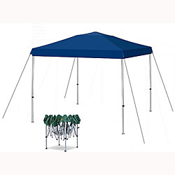 Blue 10-foot x 10-foot Canopy