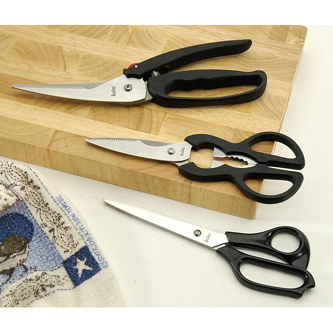 All-purpose Kitchen Scissors (Set of 3)