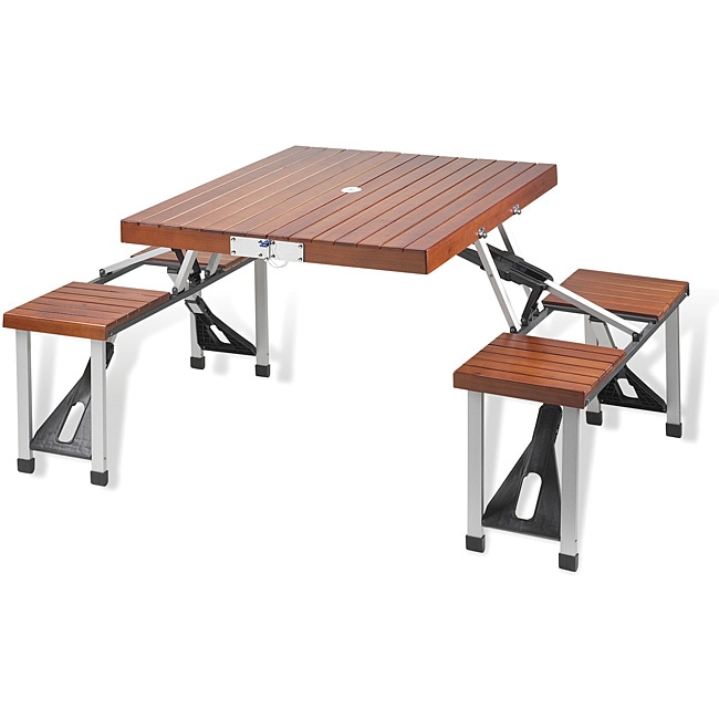 Picnic at Ascot Folding Picnic Table (Picnic Table Set), ...