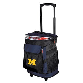 University of Michigan 'Wolverines' Insulated Rolling Cooler