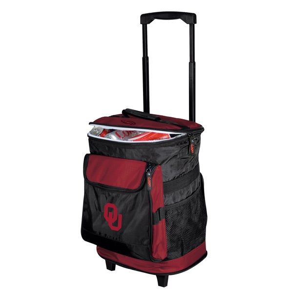 University of Oklahoma 'Sooners' Insulated Rolling Cooler