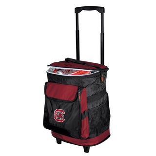 University of South Carolina Rolling Cooler - Black