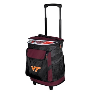 Virgina Tech 'Hokies' Insulated Rolling Cooler