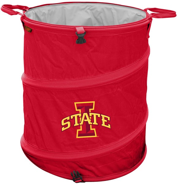 Iowa State Trash Can