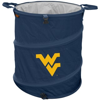 West Virginia University 'Mountaineers' Trash Can