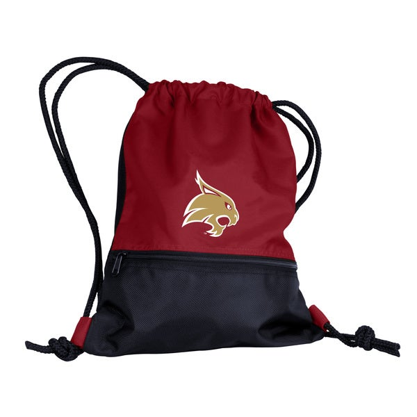 Texas State University Drawstring Backpack