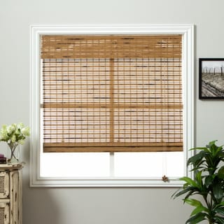 Arlo Blinds Dali Native Bamboo Roman Shade with 74 Inch Height