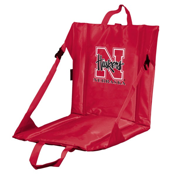 University of Nebraska 'Huskers' Lightweight Folding Stadium Seat