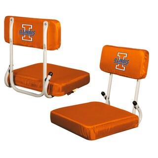 Illinois Hard Back Stadium Seat