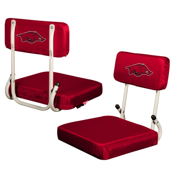 Arkansas 'Razorbacks' Hard Back Folding Stadium Seat