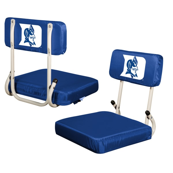 Duke 'Blue Devils' Hard Back Folding Stadim Seat