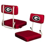 Georgia 'Bulldogs' Hard Back Folding Stadium Seat