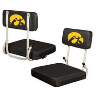 Iowa 'Hawkeyes' Hard Back Folding Stadium Seat