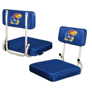 University Of Kansas Jayhawks Hard Back Folding Stadium Seat