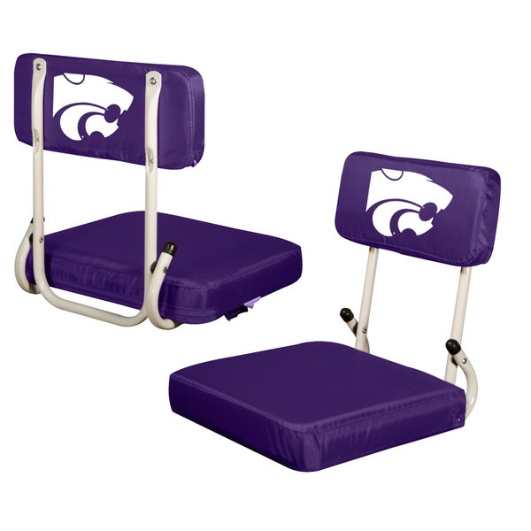 Kansas State 'Wildcats' Hard Back Folding Stadium Seat