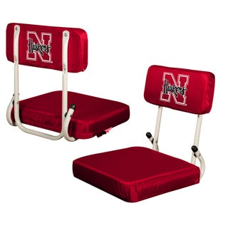 University of Nebraska Hard Back Folding Stadium Seat