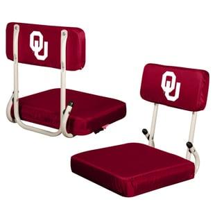 Oklahoma University 'Sooners' Hard Back Folding Stadium Seat