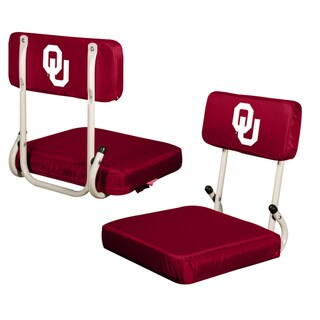 Oklahoma University 'Sooners' Hard Back Folding Stadium Seat