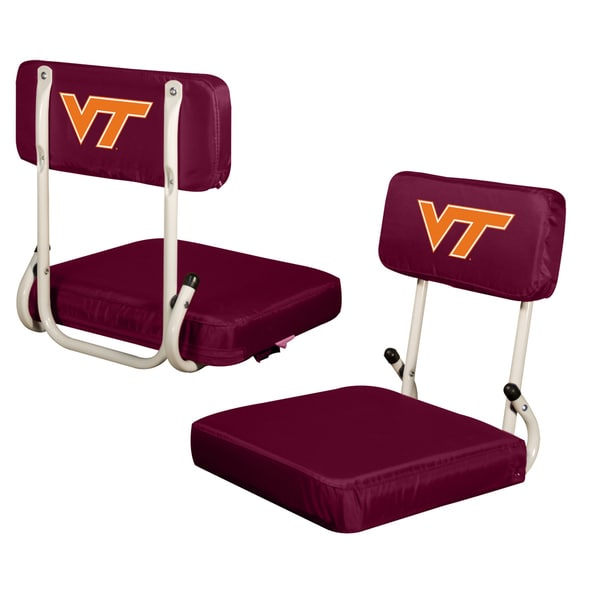 Virginia Tech Hard Back SS Bleacher Seat - Virginia Tech