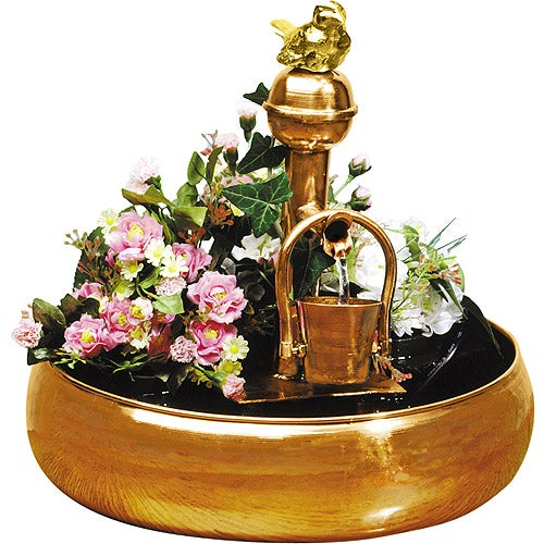 Bucket Fountain/ Planter
