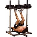 Powerline Vertical Leg Press - gray