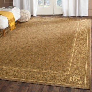 Safavieh Indoor/ Outdoor Summer Brown/ Natural Rug (2'7 x 5')
