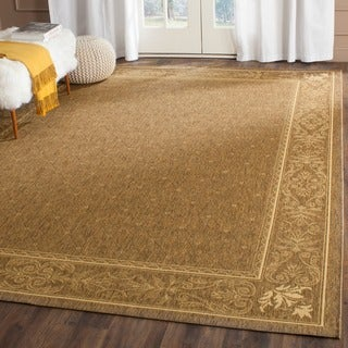 Safavieh Summer Brown/ Natural Indoor/ Outdoor Rug (4' x 5'7)