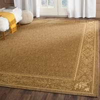 Safavieh Summer Brown/ Natural Indoor/ Outdoor Rug - 7'10 x 11'