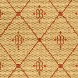 Safavieh Summer Natural/ Terracotta Indoor/ Outdoor Rug (4' x 5'7) - Thumbnail 2