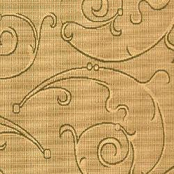 Safavieh Oasis Scrollwork Natural/ Olive Green Indoor/ Outdoor Rug (8' x 11') - Thumbnail 2