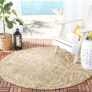 Shop Safavieh Courtyard Vicki Indoor Outdoor Rug On
