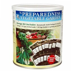 Food Storage Canned Vegetable Garden Seeds - Thumbnail 0