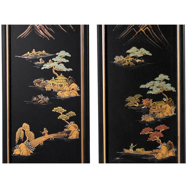 Chinese Handmade Silk Hanging Landscape painting Decorative wall paintings