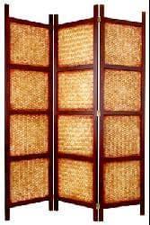 Handmade Amakan Room Divider (China)