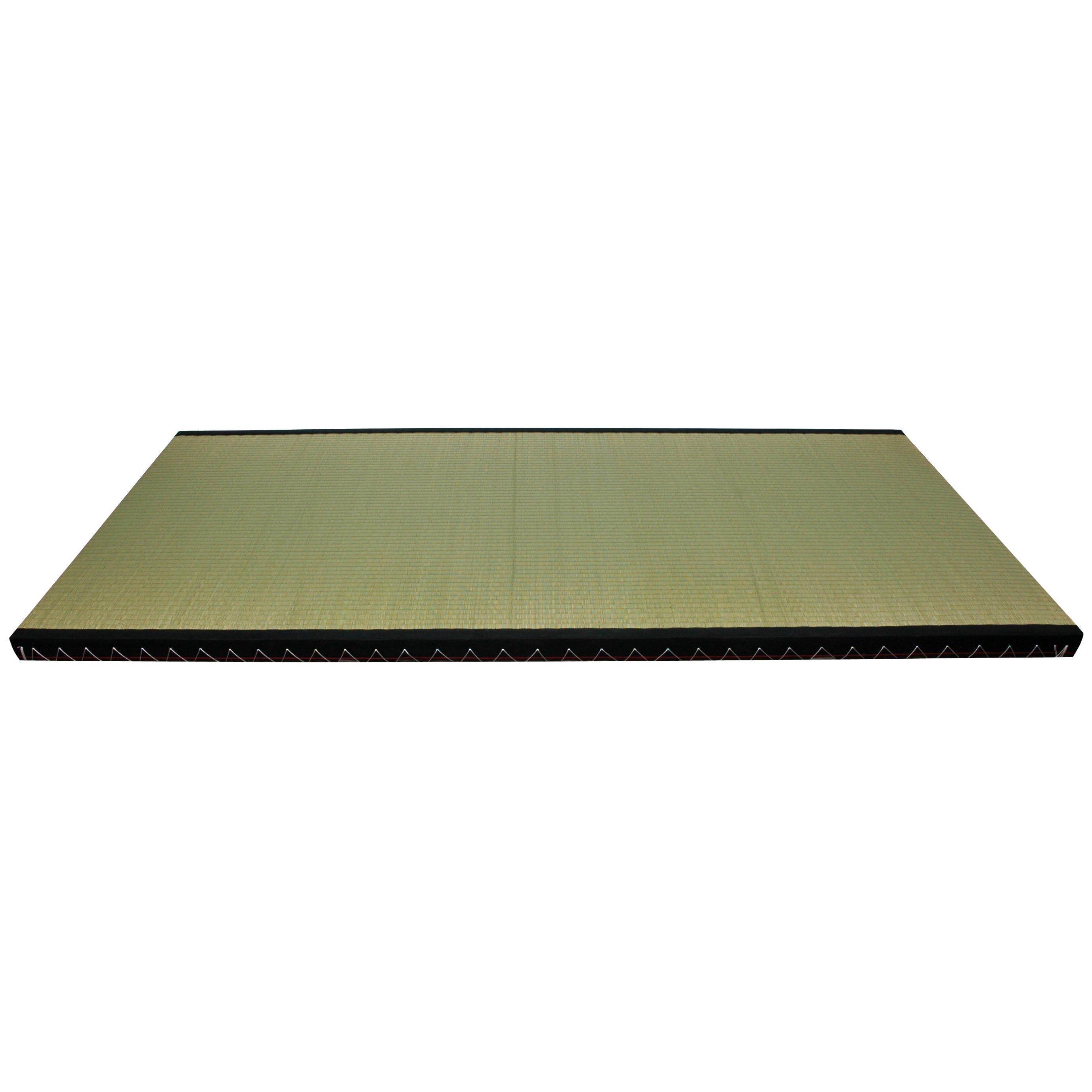 Handmade Euro King Tatami Mat (China), Green (Natural Fib...