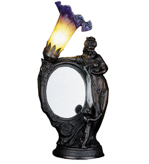 Mother and Child Mirror/ Lily Lamp
