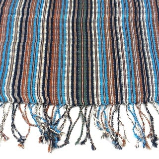 Handmade Earth Multicolored 'San Antonio' Scarf (Guatemala)