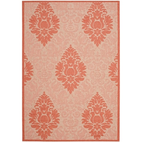 Safavieh Courtyard Willene Boho Indoor/ Outdoor Rug