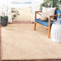 Safavieh Aruba Natural/ Brown Indoor/ Outdoor Rug - 8' X 11'