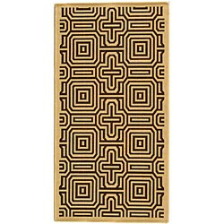 Safavieh Matrix Natural/ Brown Indoor/ Outdoor Rug (2'7 x 5')
