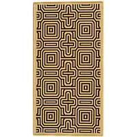 Safavieh Matrix Natural/ Brown Indoor/ Outdoor Rug (2'7 x 5') - 2'7 x 5'
