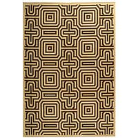 Safavieh Matrix Natural/ Brown Indoor/ Outdoor Rug - 4' x 5'7