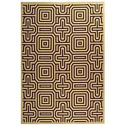 Safavieh Matrix Natural/ Brown Indoor/ Outdoor Rug (5'3 x 7'7)