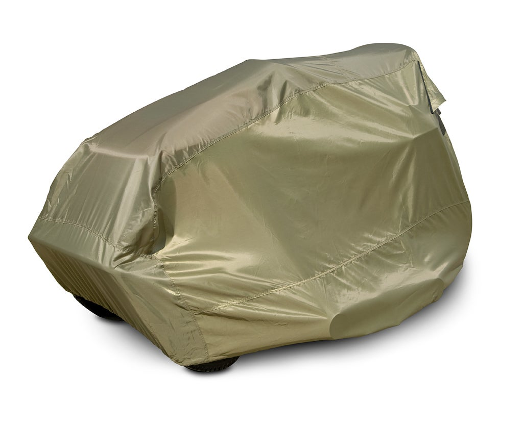 Polyester Lawn Tractor Cover - Thumbnail 1